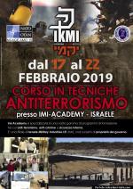 17-22 Febbraio 2019 - Corso Avanzato in Tecniche Anti-terrorismo - Israele